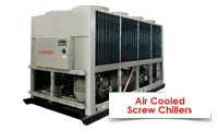 AIR COOLED SCREW CHILLER goldman محصولات گلدمن
