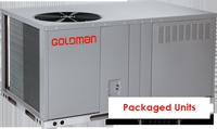 Packaged Units goldman  محصولات گلدمن