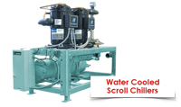 water cooled water chiller scroll  محصولات گلدمن